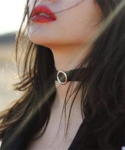 Choker Nữ Chất Liệu Cashmere Phong Cách Hàn Quốc Cực Cá Tính 3