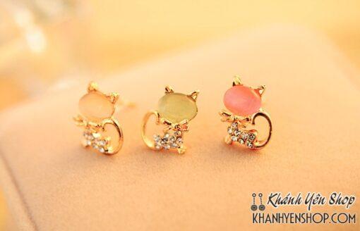 Bông Sát Tai Hình Mèo Cực Cute 1